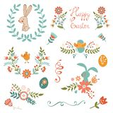 Beautiful Easter collection Stock Image