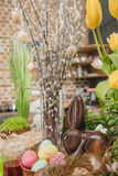Beautiful Easter composition Royalty Free Stock Image