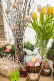 Beautiful Easter composition Royalty Free Stock Images