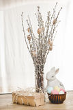 Beautiful Easter composition Stock Photos