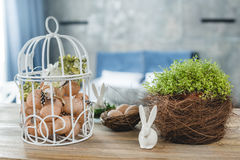 Beautiful easter composition Royalty Free Stock Photography