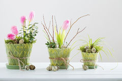 Beautiful Easter decoration Royalty Free Stock Images