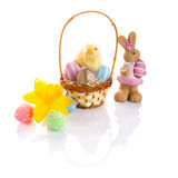 Beautiful Easter decorations Royalty Free Stock Images