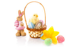 Beautiful Easter decorations Royalty Free Stock Photo