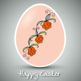 Beautiful Easter Egg. Vector background with beautiful Easter Egg stock illustration