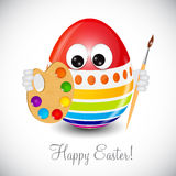 Beautiful Easter Egg Background Vector Royalty Free Stock Photography