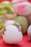 Beautiful easter egg decoration colorfull eggs Royalty Free Stock Photo