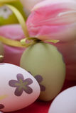 Beautiful easter egg decoration colorfull eggs Royalty Free Stock Photos