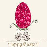 Beautiful Easter egg illustration Royalty Free Stock Photos