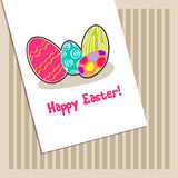 Beautiful Easter egg illustration Stock Photo