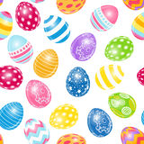 Beautiful Easter Egg Seamless Pattern Background Stock Photography