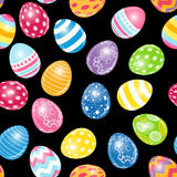 Beautiful Easter Egg Seamless Pattern Background Stock Image