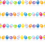 Beautiful Easter Egg Seamless Pattern Background Stock Images