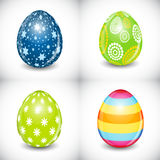 Beautiful Easter Egg Set Vector Illustration Royalty Free Stock Photo