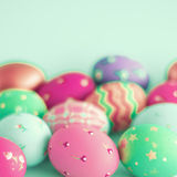 Beautiful Easter Eggs Stock Photography