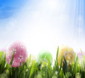 Beautiful Easter greetings Stock Photos
