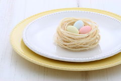 Beautiful easter setting Royalty Free Stock Images