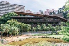 The beautiful ECO Beitou Library, Taipei, Taiwan Royalty Free Stock Images