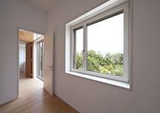 Beautiful ecologic house. Interior, room Royalty Free Stock Photography