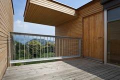 Beautiful ecologic house Royalty Free Stock Images