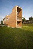 Beautiful Ecologic House, Outdoors Stock Images