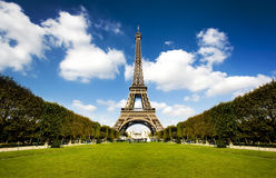 Beautiful Eiffel tower Royalty Free Stock Photo