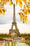Beautiful Eiffel Tower. Royalty Free Stock Photo