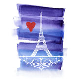 Beautiful Eiffel Tower Royalty Free Stock Images