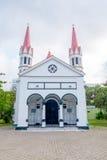 Beautiful El Cabrero church in Cartagena, Colombia Royalty Free Stock Photos