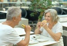 Beautiful elderly couple Royalty Free Stock Images