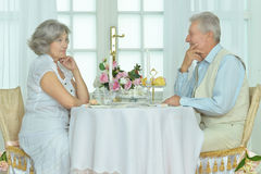 Beautiful elderly couple Royalty Free Stock Images