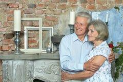 Beautiful elderly couple Royalty Free Stock Image