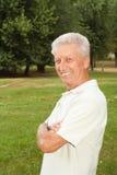 Beautiful elderly man Royalty Free Stock Images
