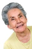 Beautiful elderly woman Royalty Free Stock Image