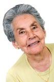 Beautiful elderly woman Royalty Free Stock Image