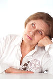 Beautiful elderly woman Stock Photography
