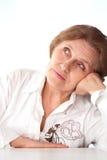 Beautiful elderly woman Stock Photography
