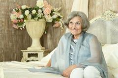 Beautiful elderly woman Royalty Free Stock Photo