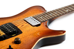 Beautiful electric guitar Stock Image