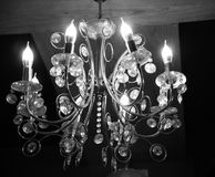 A hanging electric lights of an interior room. Beautiful electric hanging lights inside a room unique royalty free image royalty free stock photography