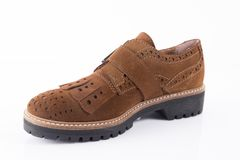 Shoes leather Royalty Free Stock Photos