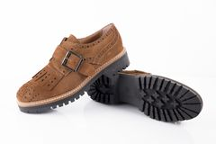 Shoes leather Stock Photography