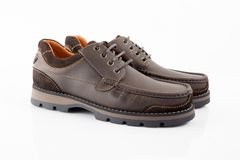 Shoes leather Royalty Free Stock Photography
