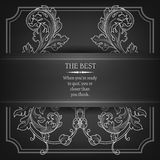 Beautiful elegant background with lace floral Royalty Free Stock Images