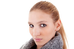 Beautiful and elegant blond woman Stock Photo