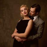 Beautiful elegant couple Royalty Free Stock Photo
