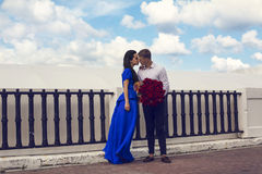 Beautiful elegant couple Royalty Free Stock Image