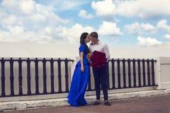 Beautiful elegant couple Royalty Free Stock Image