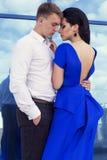 Beautiful elegant couple Royalty Free Stock Images