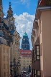 Beautiful elegant Dresden, Germany Stock Photos
